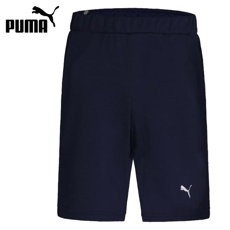 Original New Arrival 2018 PUMA ESS Sweat Shorts 9 Men's Shorts Sportswear drawstring plus size sweat shorts
