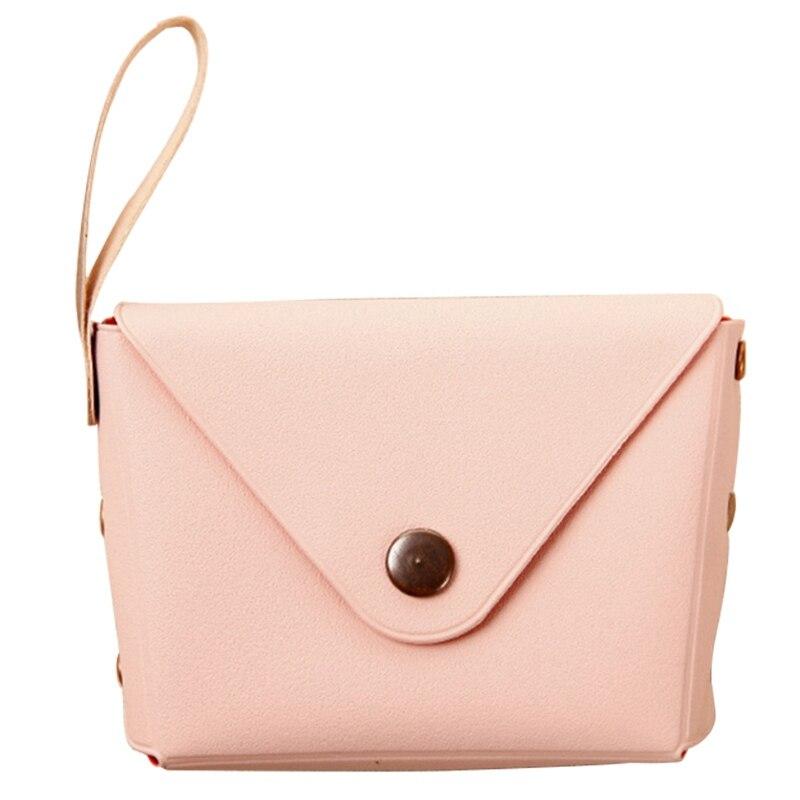 MYTL конфеты ПУ бумажник маленький ключ кошелек Сумочка Детский кошелек - Цвет: Pink