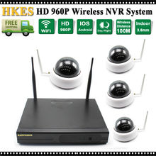 WI-FI 1280×960 P 1,3-МЕГАПИКСЕЛЬНАЯ Купольная Ip-камера Крытый 22LED ИК Ночного Видения Беспроводных Securtiy Ip-камеры Системы