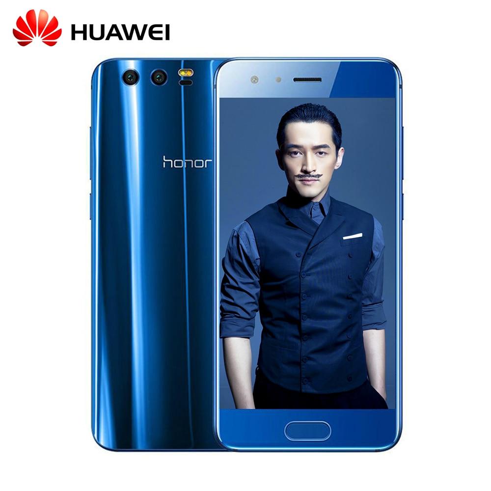bilder für Huawei Honor 9 6 GB RAM 64 GB ROM Smartphone Kirin 960 Octa Core 5,15 ''Dual SIM Android 7.0 Dual Zurück Kamera Infrarot-fernbedienung