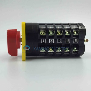 Image 3 - rotary selector switch 3 position switch main switch electric change over switch 5 phase LW5 16/5