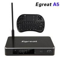 Egreat A5 Inteligentny Android Box 5.1 TV 3D 4 K UHD Media Player z HDR USB3.0 OTA Pomoc SATA Blu-ray Disc Dolby Tura HD DTS-HD