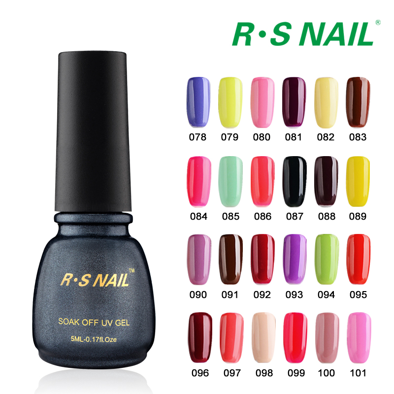 Rs Nail: RS Nail Soak Off Gel Nail 3 Lucky Set Of Lacquers Vernis A