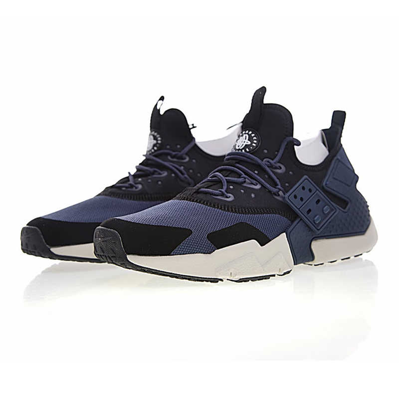 69d72cecfa ... Breathable Non-slip NIKE AIR HUARACHE DRIFT PRM Men's Running Shoes  ,Blue & White ...