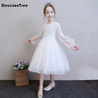 2019 new girl sweet baby girl princess dress unicorn party pageant wedding tulle dresses pink tutu dress for girls