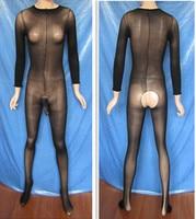 10D Super cienkie przezroczyste rajstopy aksamitne sexy pończochy ciała z przodu krocza rajstopy JJ bodyhose z otwartym krocza
