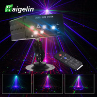 Par LED DMX Disco Party Light 96/48/36 Patterns RG Laser Projector DMX Disco Stage RGB Light For IR DJ Music Xmas Party