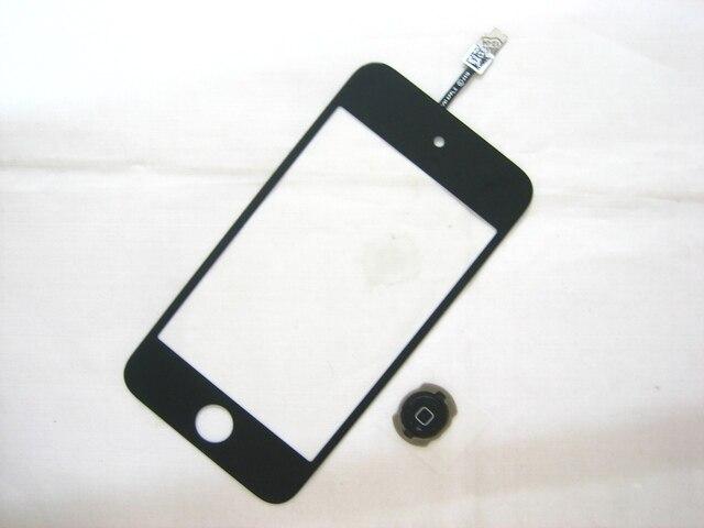 Замена Сенсорного Экрана Digitizer для iPod Touch 4 Black
