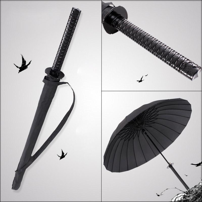 GQIYIBBEI-Criativo-Punho-Longo-Grande-Guarda-chuva-Espada-Samurai-Japon-s-Ninja-como-o-Sol-Prova