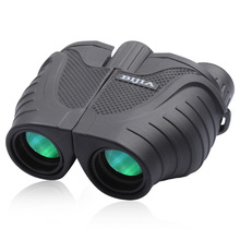 Heat Sell Brand BIJIA10x25 Binocular Telescope Waterproof Green Film Super Clear Mirror Telescope Hunting Camping Wholesale