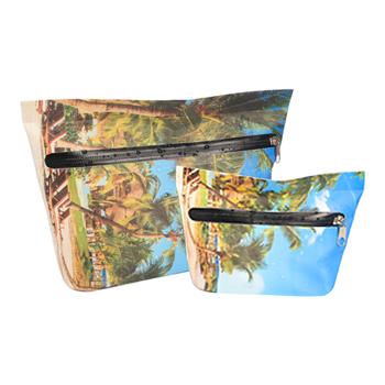 Kobiety Outdoor sporty wodne sucha torba lekka pływanie makijaż kosmetyczka wodoodporna torebka na siłownię podróże łódką tanie i dobre opinie TOMSHOO Torba na ramię Combo suchej mokrej torba Swimming Bag