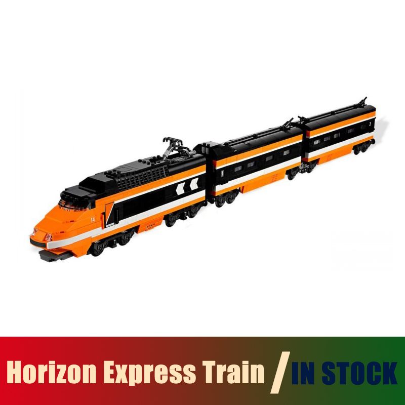 Compatible Lego Technic creator 10233 Models Building Toy Horizon Express Train 1351pcs 21007 Building Blocks Toys & Hobbies lego creator 31045 лего криэйтор морская экспедиция