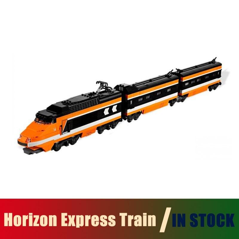 Compatible Lego Technic creator 10233 Models Building Toy Horizon Express Train 1351pcs 21007 Building Blocks Toys & Hobbies lego lego technic 42031 ремонтный автокран