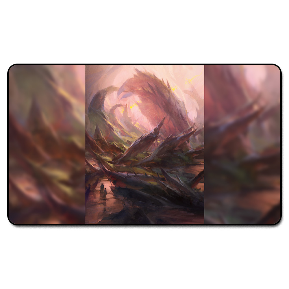 ( Shock Lands Blood Crypt) MGT Playmat, Magical Board The Games Proxy Play Mat,Custom Playmat Design with Free Bag ...
