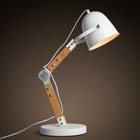 KC verlichting mode persoonlijkheid loft industriële retro eye lamp creatieve lezen Tafellampen boek lamp verticale studie