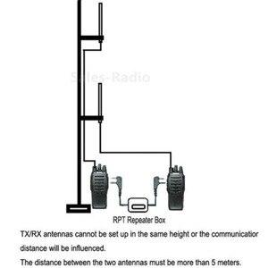 Image 4 - トーキング距離展開 K プラグハンドヘルドラジオ中継局 wouxun ケンウッド BAOFENG 2 wav リレーボックストランシーバーリピータ