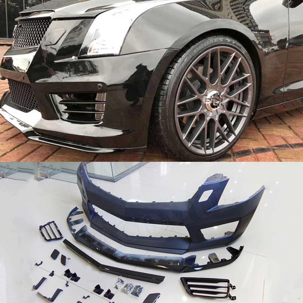 RQXR Front Bumper Grill Grille For Cadillac ATS XTS XT5 D3