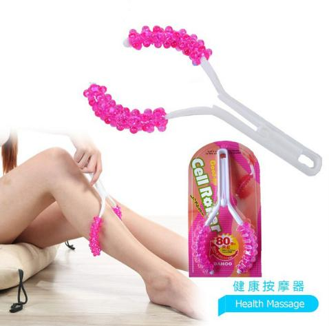 Y Shape Cell Roller Leg Stovepipe Massager Shiatsu Legs Roller Anti Cellulite Massager Leg Arm Thigh Body Slimming Massage Tool Removing Obstruction Beauty & Health Massage & Relaxation