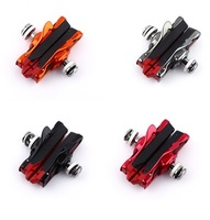 BARADINE 471C Bicycle Brake Pad Brake Pads Road Folding Bicycle Brake Pads Colours Bmx Parts