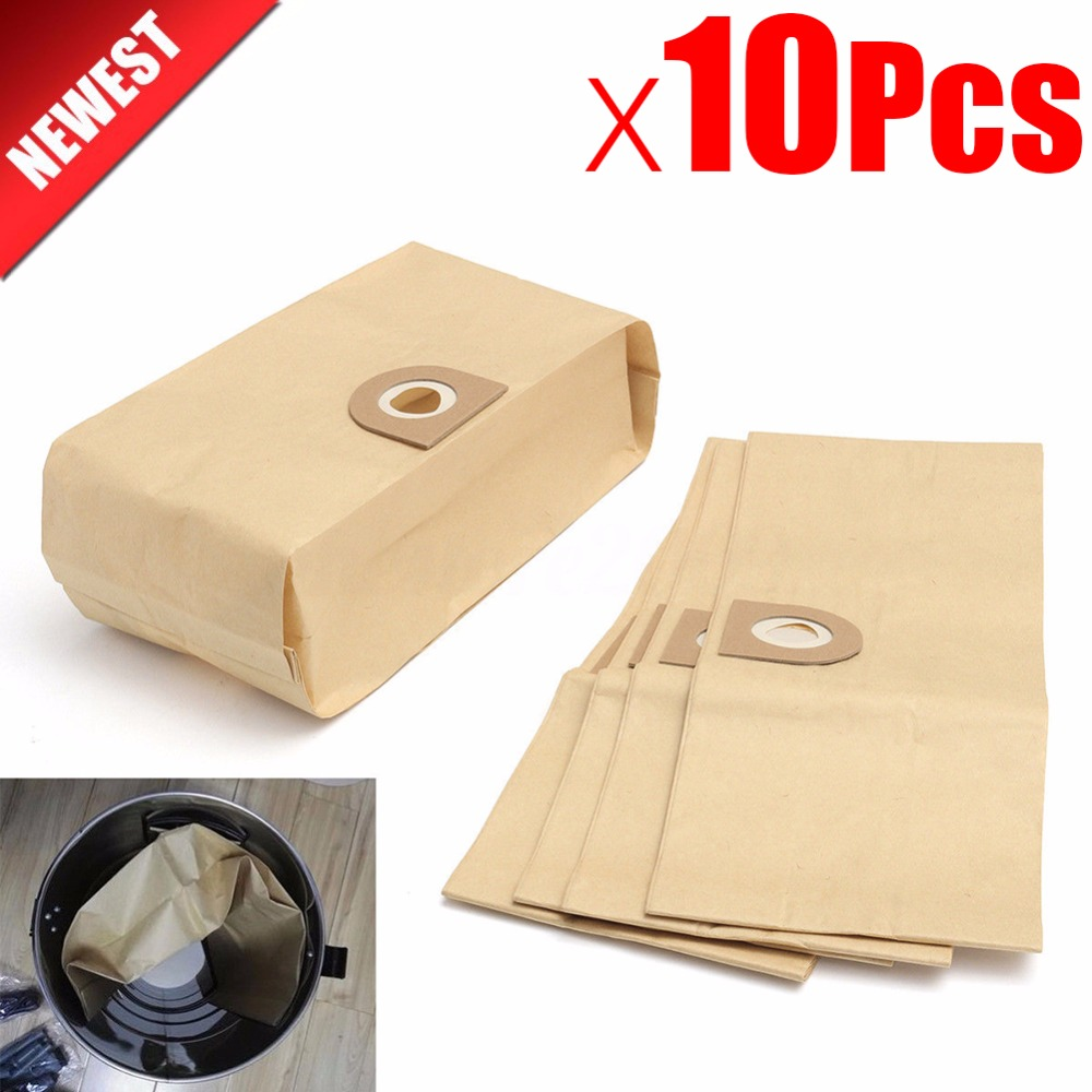 10Pcs Vacuum Cleaner Parts Dust Filter Bags For VAX V10 V11 V12 V100 101 121 2000 4000 5000 6000 6131 6135 6140 6140 6155 6510SX