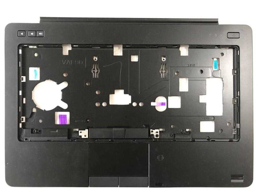 Pour origine Dell Latitude E6440 6440 Repose-poignets Majuscules C Couverture avec TouchPad avec le doigt 0V7MXM avec électrique partie