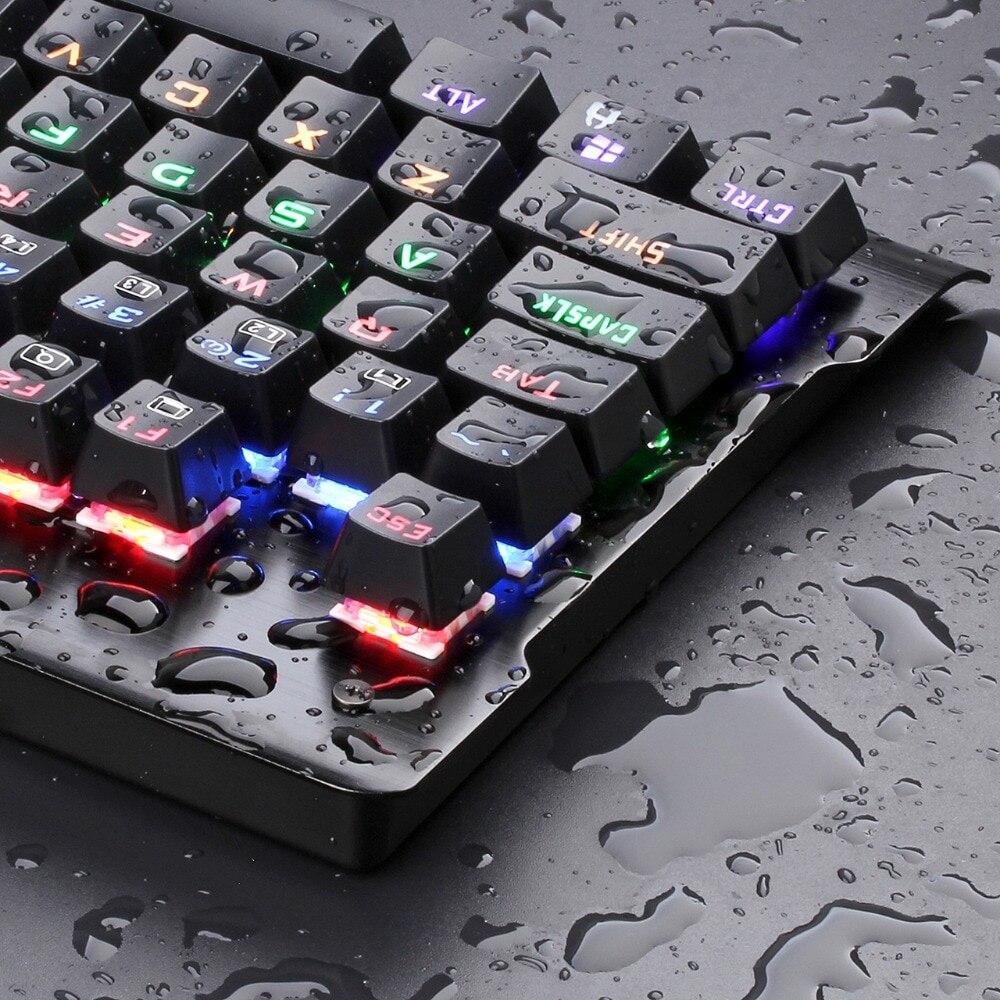 Redragon K561 VISNU 87 Keys Anti-ghosting RGB Backlit Mechanical Gaming Keyboard