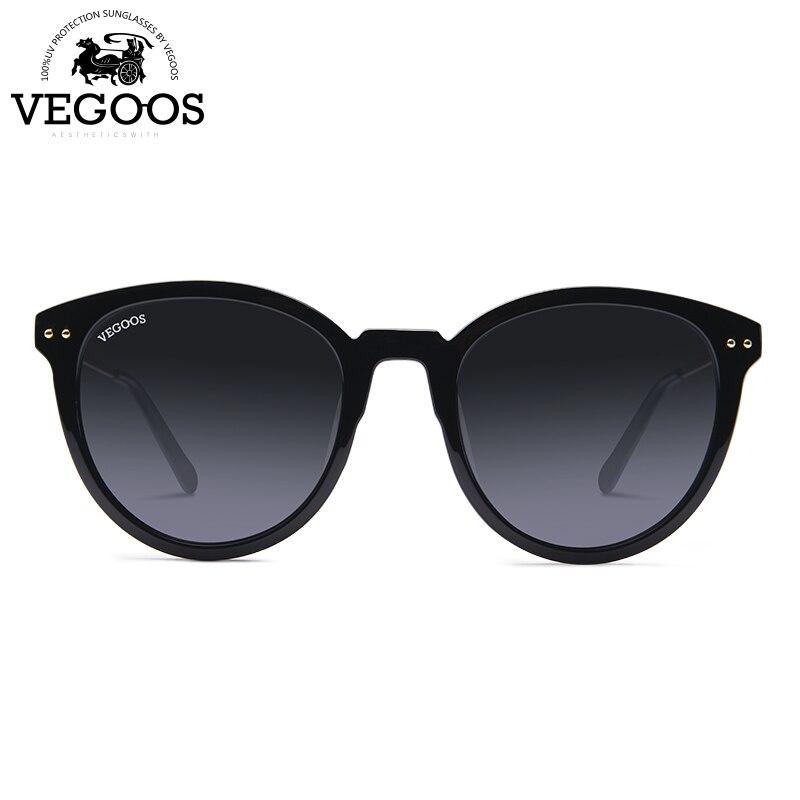 VEGOOS OCCHIALI Nuovi Occhiali Polarizzati Delle Donne Occhiali Da Sole Rotondi Del Progettista di Marca di Modo Retro Polaroid Occhiali Da Sole oculos de sol feminino #9099