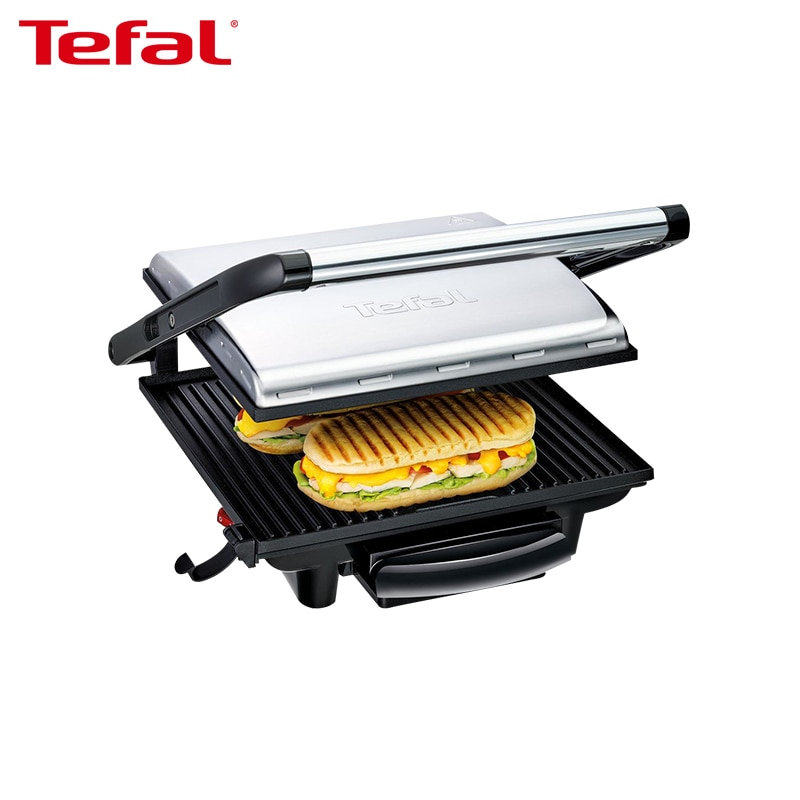 Electric Grill TEFAL GC241D38 Electric Griddles press grill electric grill electric food oven chicken roaster commercial desktop electric salamander grill