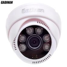 Gadinan CMOS 800TVL/1000TVL 2.8mm Lens Security IR 6 Array LEDs CCTV Indoor Cam Night Vision Surveillance HD Dome Camera
