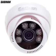 Gadinan CMOS 800TVL/1000TVL 2.8mm Lens Security IR 6 Array LEDs CCTV Indoor Cam Night Vision Surveillance HD Dome Camera