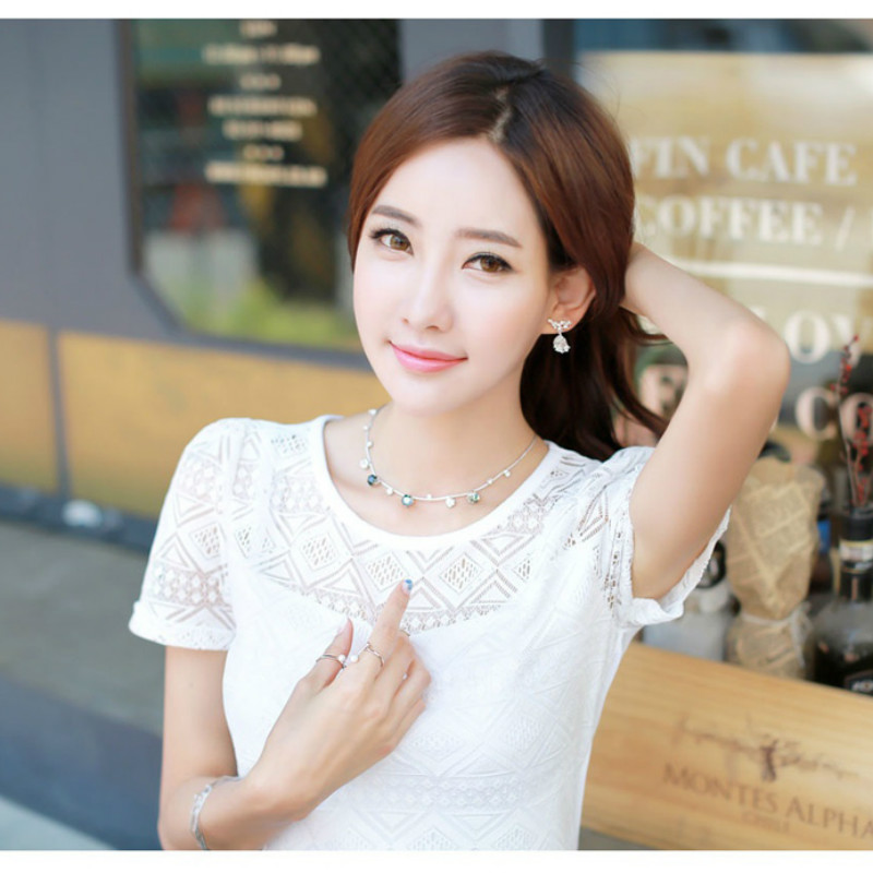 HTB1dsupNFXXXXcCXXXXq6xXFXXXH - New women tops lace chiffon blouse korean office female clothing