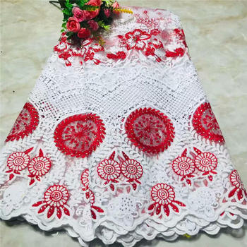 African Sequins Lace Fabric 2019 Embroidered Nigerian Laces Fabric Bridal High Quality French Tulle Lace Fabric For Women