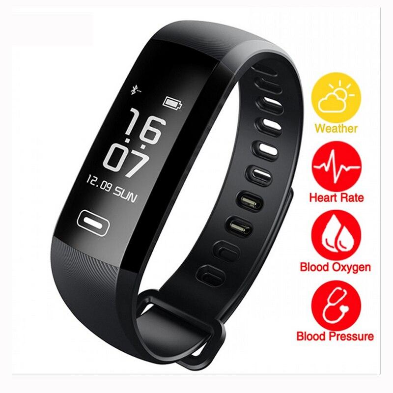 M2 Pro Smart Wristband Bracelet Fitness Tracker Blood Pressure Oxygen Oximeter Passometer Heart Rate Tracker App
