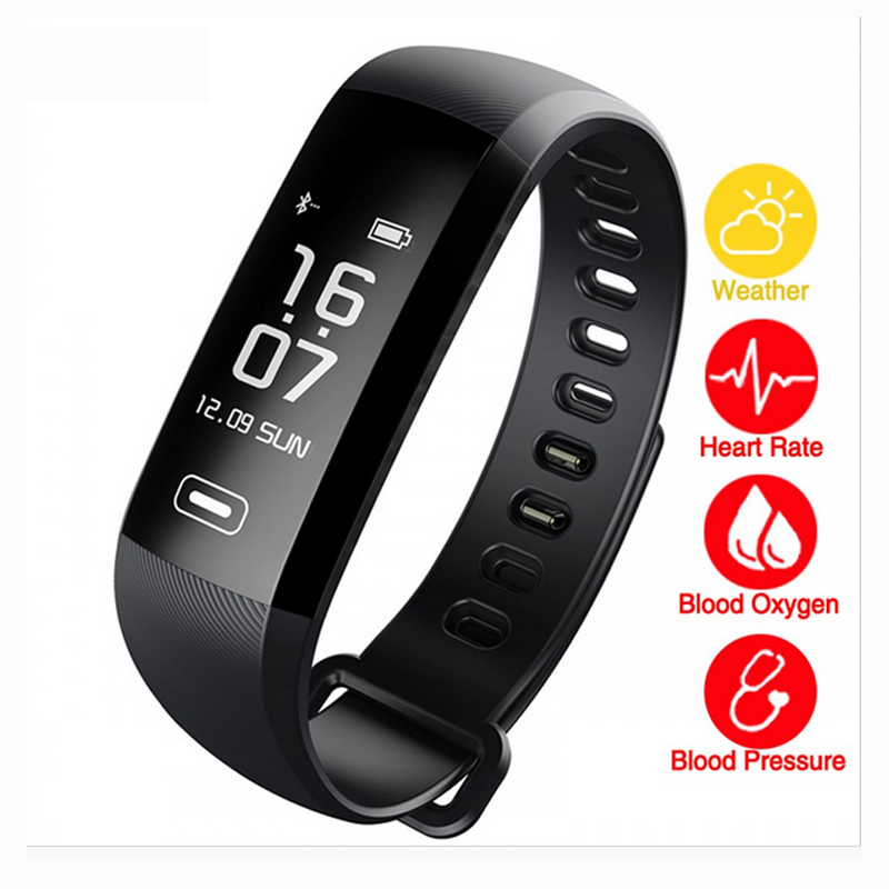 M2 Pro Smart Wristband Bracelet Fitness Tracker Blood Pressure Oxygen Oximeter Passometer Heart Rate Tracker App For iOS Android