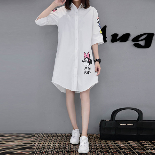 2018 New maternity clothing half-sleeve gravida blouses spring summer plus size maternity top clothes for pregnant women 4XL 5XL 2
