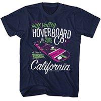 2016 marke T-shirt Homme Tees Zurück in die Zukunft Hill tal Hoverboard Unternehmen Navy Erwachsene T-shirt Baumwolle Niedrigen Preis Top t