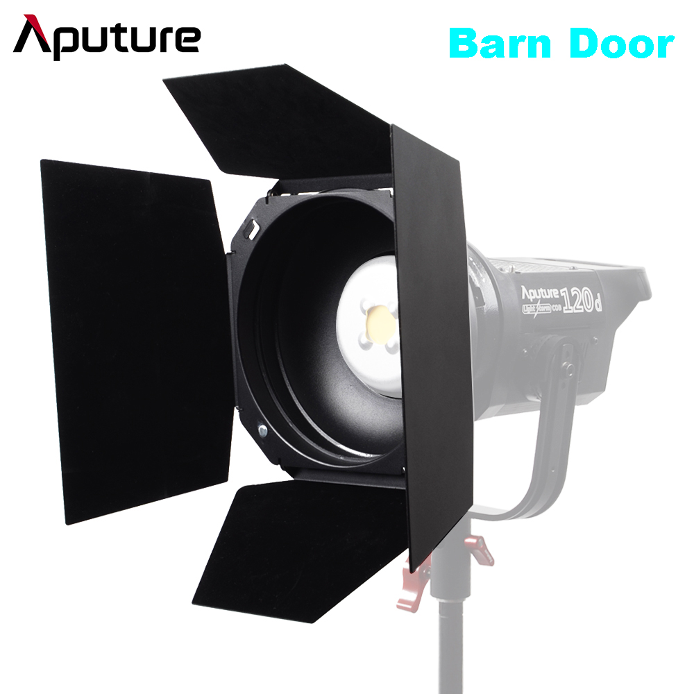 Aputure Barn Door Bowen-S Mount Light for LS Cob 120D 120D Mark II 300D Series Light Shaping Tool Allowing for Colored Gels kreisberg andrew darksiders ii death s door