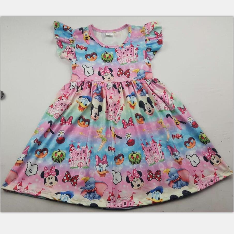 Summer cute girl dress hot sale clothing