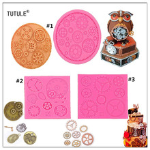 Gadgets - Steam punk gear mold offer an assortment of gears in different styles and sizes to Silicone Have Detailed Gear  Molds