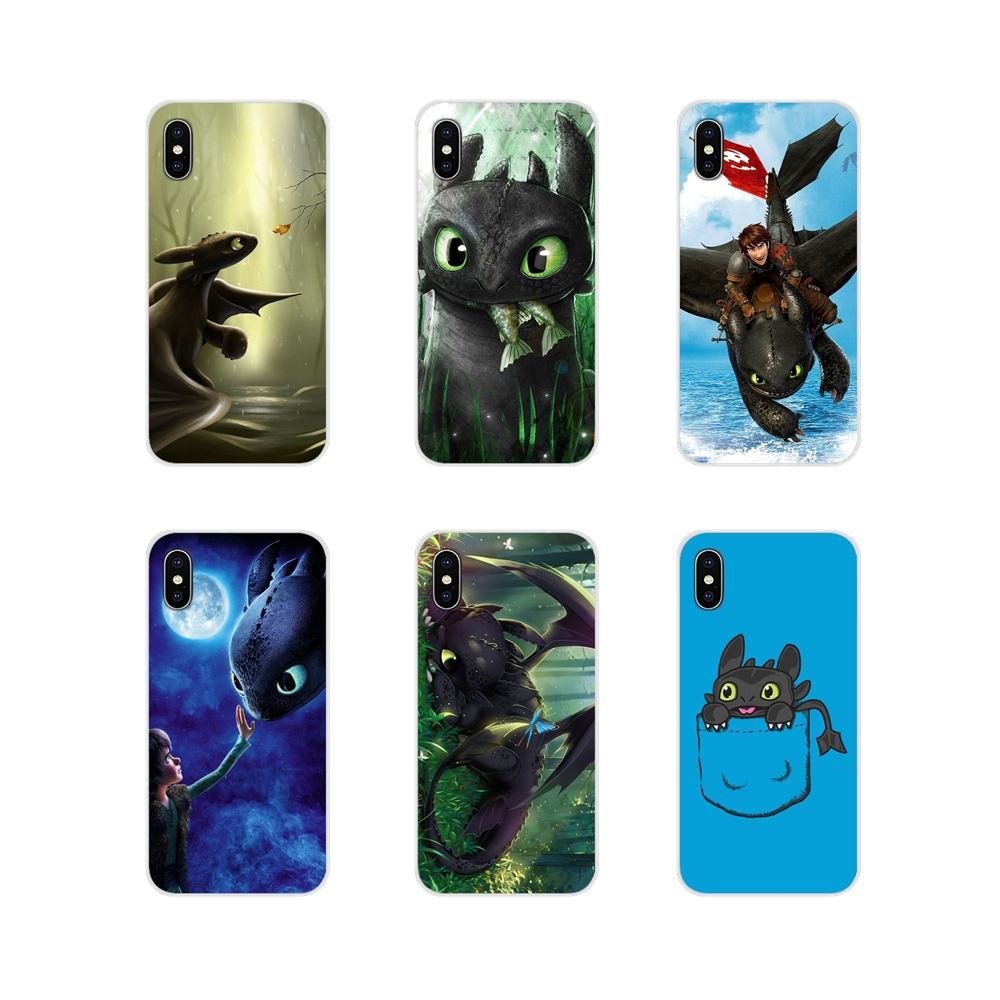 For <font><b>Nokia</b></font> 2 3 5 6 8 9 <font><b>230</b></font> 3310 2.1 3.1 5.1 7 Plus For LG Q6 7 8 9 X Power How to train your Dragon Soft Transparent Shell <font><b>Covers</b></font> image