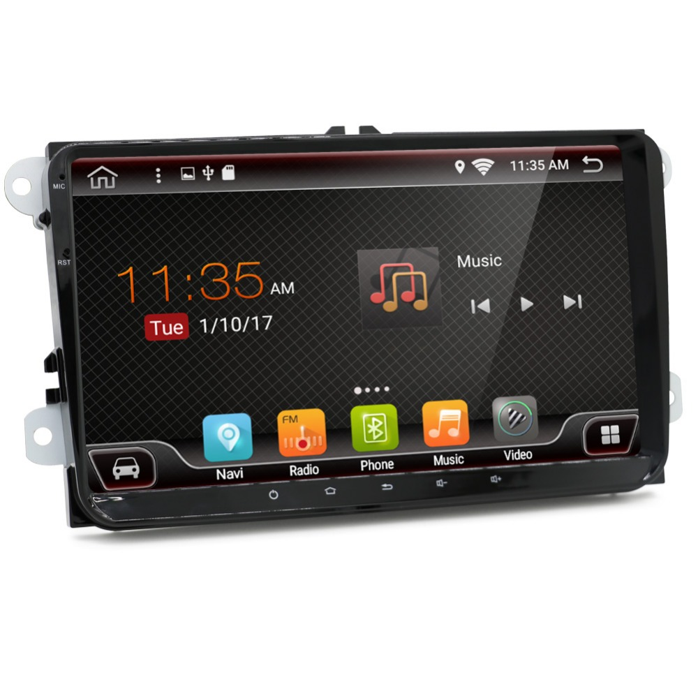 2G+16G Android 6.0 car dvd player for Skoda Fabia octavia Superb Yeti Seat Leon Toledo Rapid Roomster AMAROK vw golf tiguan polo