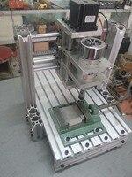 Малый Гравировальный машины 2030 DIY алюминиевый сплав 3th оси с драйвером ЧПУ usb MACH3 AC110 220V