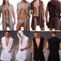 1 pièces haute qualité hommes robes peignoir grande taille Manview robe pour homme hommes vêtements de nuit sexy mâle kimono vêtements de nuit en soie