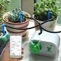 Капельный разбрызгиватель садовый управление мобильным телефоном интеллектуальное садовое автоматическое устройство орошения горшок дл...