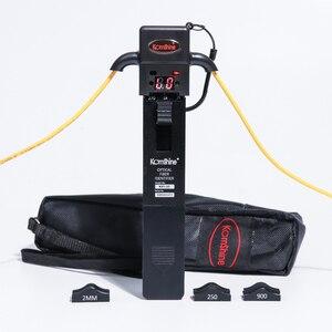 Image 1 - Identificador de fibra óptica de material metálico KomShine KFI 35 con cuatro adaptadores de 0,25, 0,9, 2,0 y 3,0