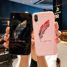Crown King Queen Moon Stars Feather Case on For Huawei Honor 8X 7A 7C 9 10 lite V10 Play P20 lite Pro Nova 3 2S Y6 Y7 Prime 2018(China)