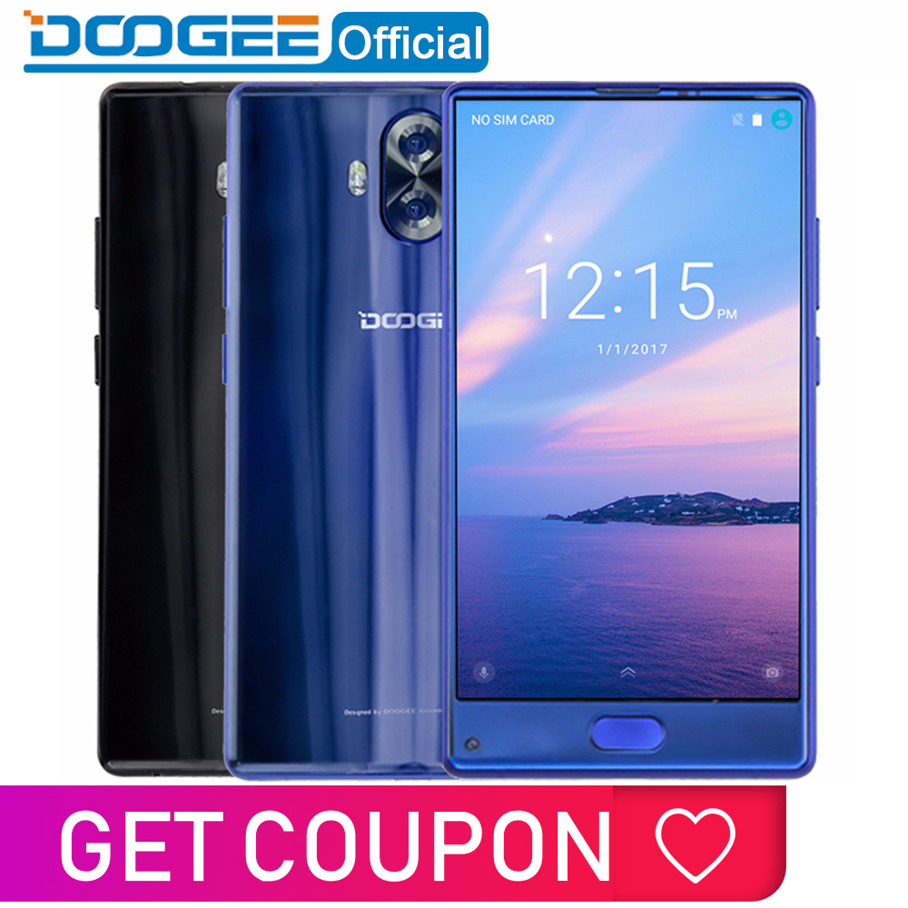 Original DOOGEE MIX Lite Smartphone Dual Camera 5.2'' MTK6737 Quad Core 2GB+16GB Android 7.0 3080mAh Fingerprint Mobile Phones