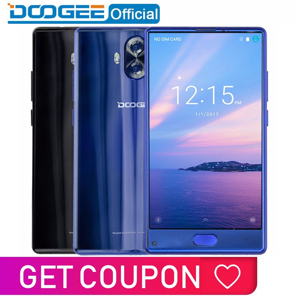 Original doogee mix lite smartphone câmera dupla 5.2 mtmtmtk6737 quad core 2 gb + 16 gb android 7.0 3080 mah impressão digital telefones celulares