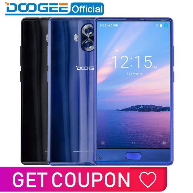Oryginalny DOOGEE MIX Lite Smartphone Dual Camera 5.2 ''MTK6737 Quad Core 2 gb + 16 gb Android 7.0 3080 mah Linii Papilarnych Telefony Komórkowe
