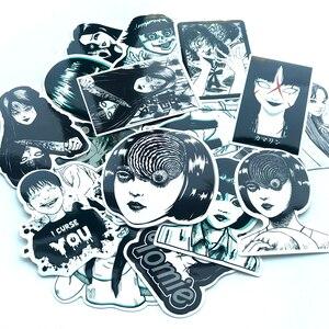 21 шт., страшные наклейки с комиксами, японские ITO leap second, наклейка для сноуборда, ноутбука, багажа, автомобиля, холодильника, автомобиля, Стайлинг, винил, дома